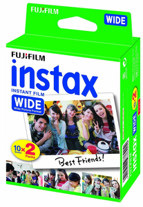 Fujifilm Instax Wide Film 20pc(s) 108 x 86mm instant picture film