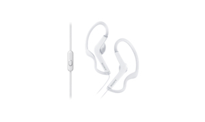 Sony MDR-AS210AP White In Ear Headphones