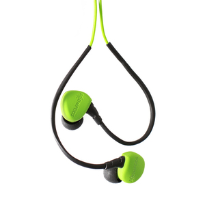 Boompods sportpods race - wired Intraaural In-ear Green