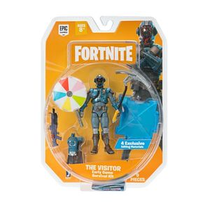 Fortnite 1 Figure Pack Early Game Survival Kit B The Visitor S2 4