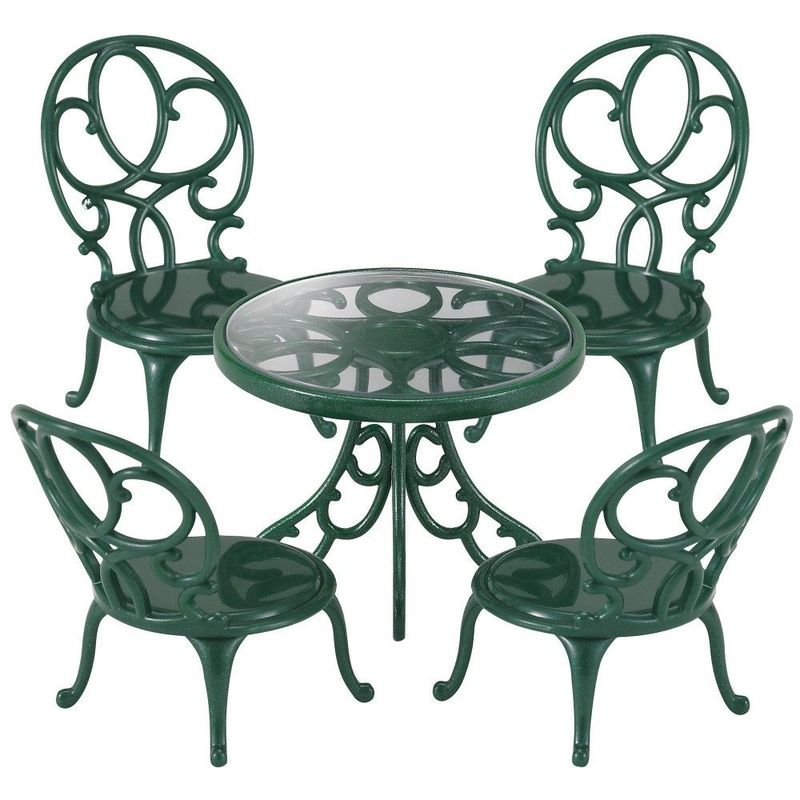 Ornate Garden Table Chairs