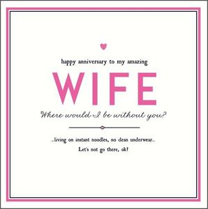 Wife Anniversary Be Without You New
