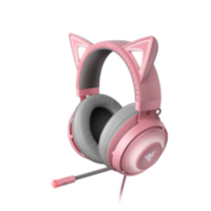 Razer Kraken Kitty Headset Head-Band Grey,Pink