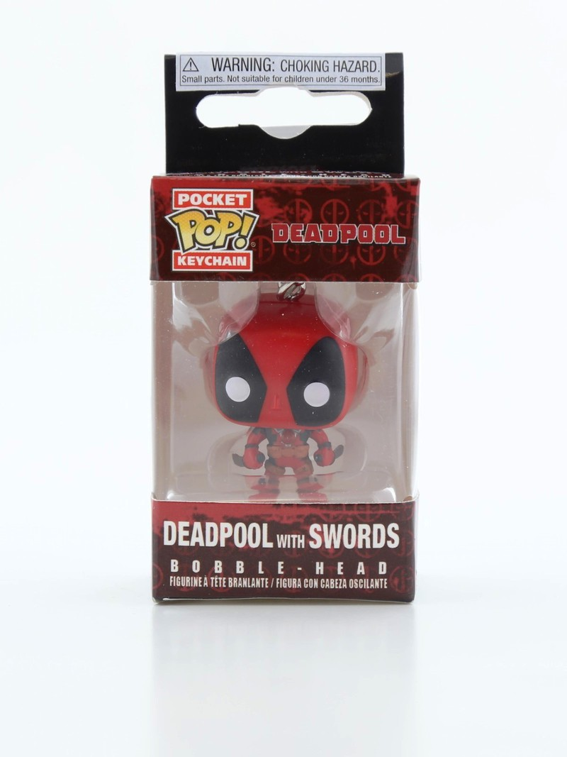 Funko Pop Keychain Deadpool Playtime Deadpool W/ Sword