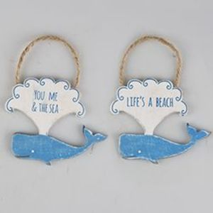 Happy Whale Hanging Decoration