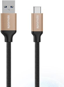 Promate Usb C 3 0 To Usb A Data Cable -1 2M - Gold