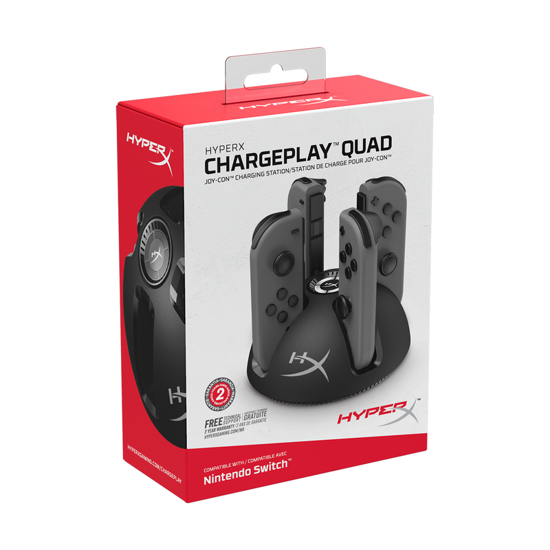 HyperX Chargeplay Quad Charging Stand for DS4