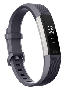 Fitbit Alta HR Blue/Grey Heart Rate + Fitness Wristband [Small]