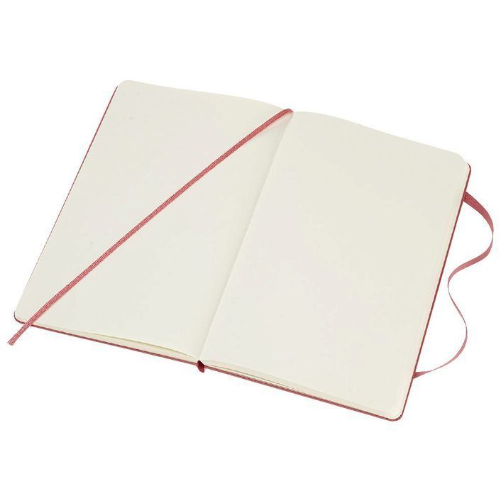 Moleskine 8058341715413 Notebook Large Plain Hard Cover Daisy Pink