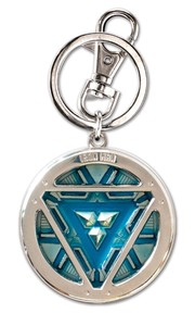 Iron Man Arc Reactor Pewter Key Ring