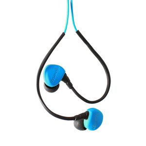 Boompods sportpods race - wired Intraaural In-ear Blue
