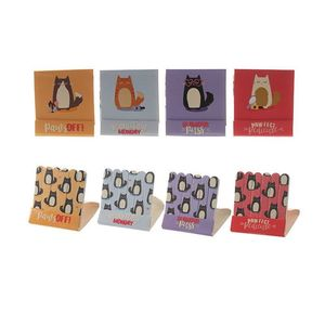 Fun Nail File Matchbook Cute Cat Design