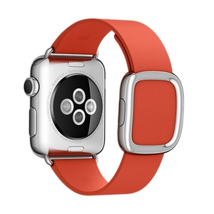 Apple MMGY2ZM/A smartwatch accessory Band Red Leather