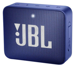 JBL GO 2 Blue Portable Bluetooth Speaker