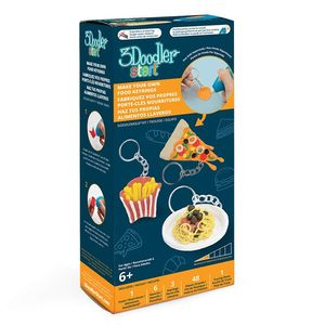 3Doodler Start Make Your Own Food Keyring Doodlemould Kit