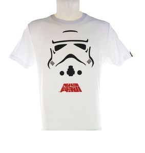 STORM TROOPER Men s T Shirt White