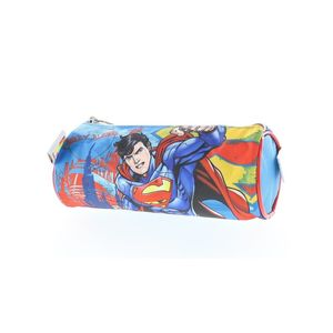 Superman Round Pencil Case