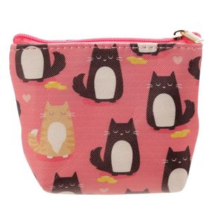 Handy Pvc Make Up Bag Purse Feline Finecat Design