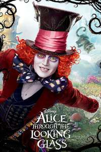 Alice Through The Looking Glass [3D Blu-Ray] [2 Disc Set]