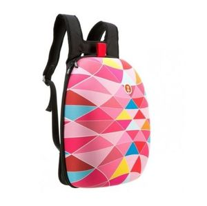 Zipit Shell Backpacks Pink Triangles