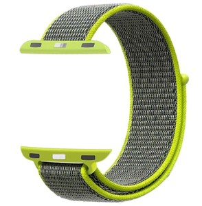 Promate Nylon Mesh Strap For 42Mm Applewatch Green