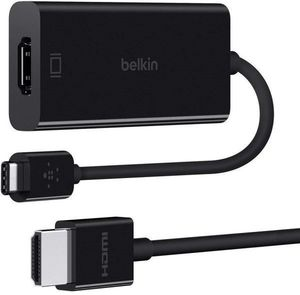 Belkin Usb C To Hdmi Adaptor 2M Premium Hdmi Cable Bundle