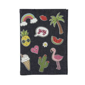 Patches Pins Passport Cover