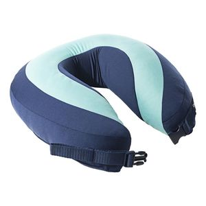 Sleep Sound In Flight Pillow Bright Blue