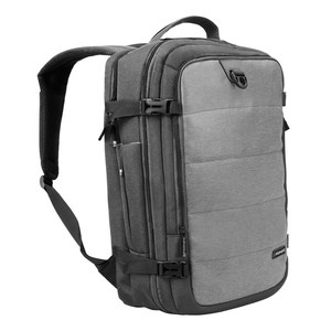 Promate Full Featured Travel Carry on Backpack Grey