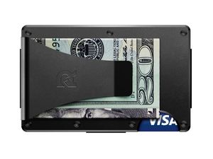 Aluminum Money Clip Black