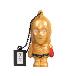 Star wars tfa c 3po red arm 16gb usb flash drive