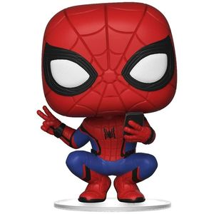 Pop Marvel Spiderman Far From Home Spiderman Hero Suit