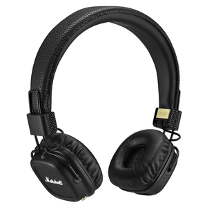 Marshall Major II Black Bluetooth Headphones