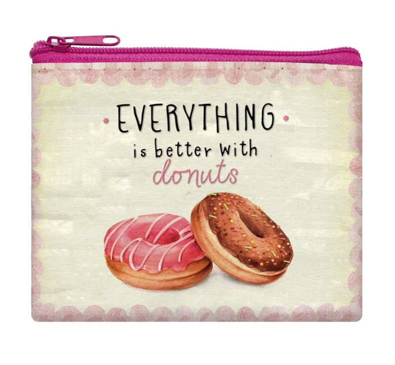 Coin Purse Funky Collection Donuts