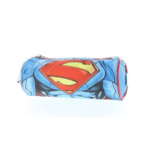 Superman 3D Muscle Round Pencil Case