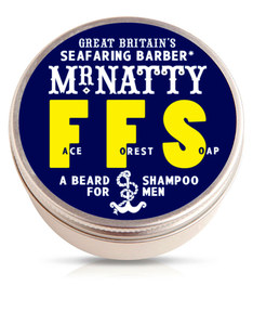 Mr Natty Face Forest Soap Beard Shampoo 80g