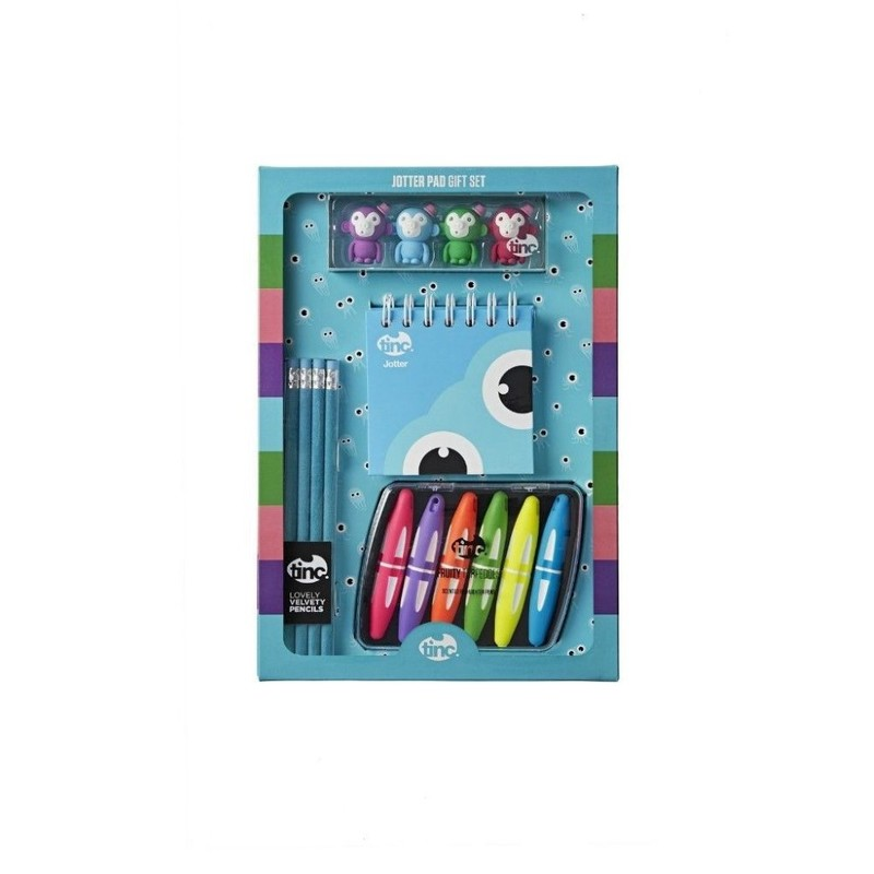 Jotter Pad Gift Set Blue