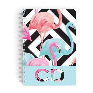 Flamingo Hardcover Notebook A5 Size