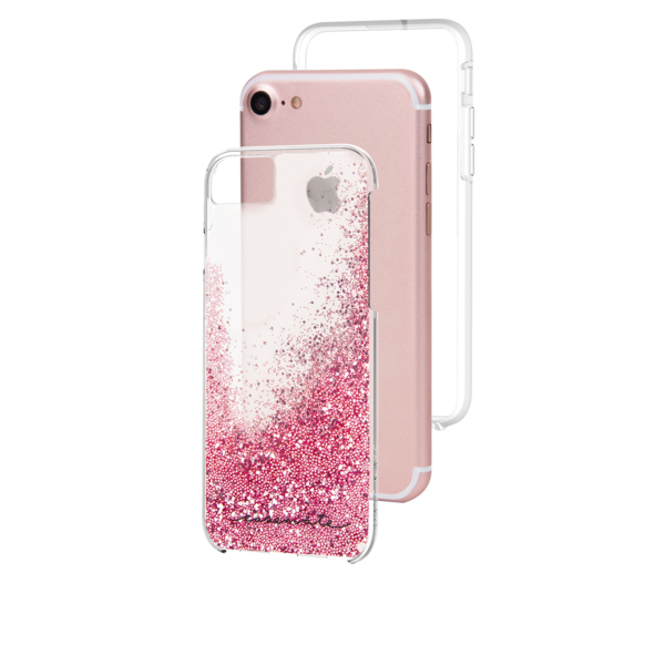 sale retailer f76c7 7bfc6 Case-Mate Waterfall Case Rose Gold iPhone 8/7