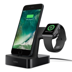 Belkin PowerHouse Charge Dock Black For iPhone & Apple Watch