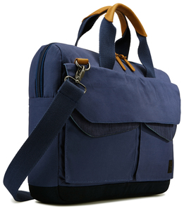 Case Logic Lodo Attache Dress Blue 14 Inch