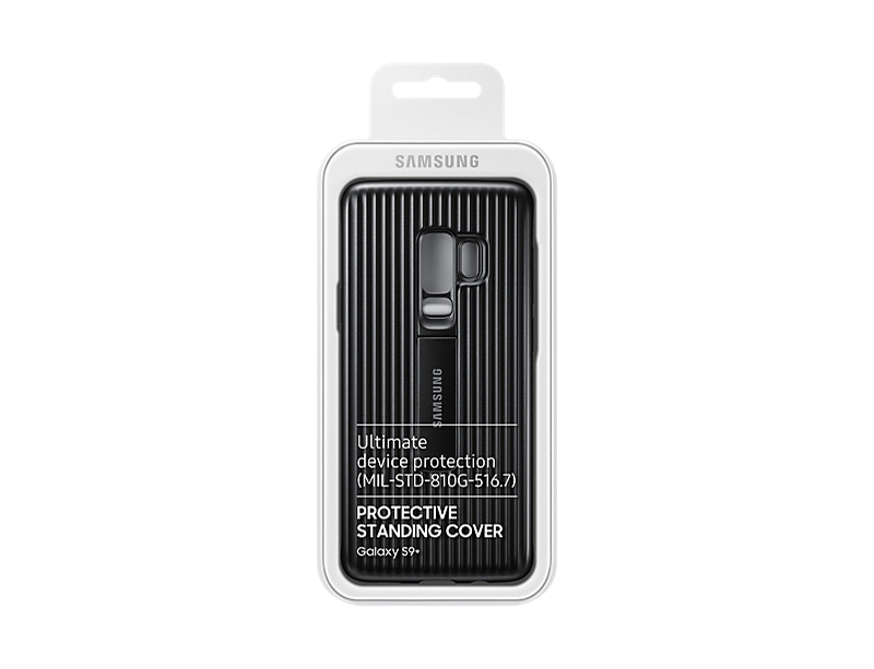 check out b366d d8dcf Samsung S9+ Protective Standing Cover Black