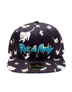 Rick Morty Cats Aop Snapback