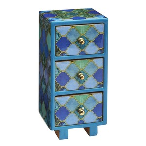 Asilah Three Drawer Mini Chest