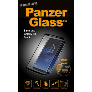 Panzer Glass Premium For Samsung Galaxy S8 Black