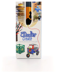 3Doodler Pen Create-Gold +2 Plastic Packs And Uk Plug