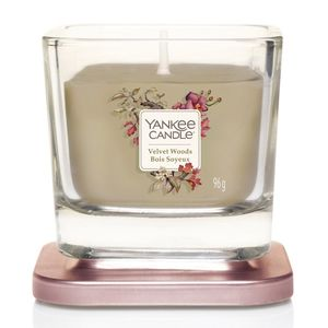 Yankee Candle Elevation Vessel Candle Velvet Woods S