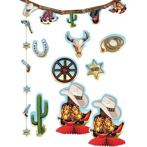 Way Out West Decor Kit 10Pc