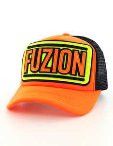 Fuzion Classic 010 Neon Orange Cap