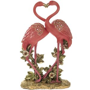 Exotic Art Flamingos 12.5